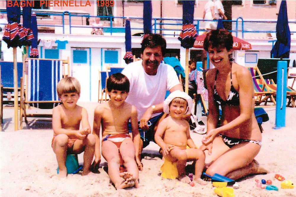 Famiglia Mueller 1985